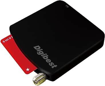 Digibest 地上デジタル・BS・110°CS 3波 +ワンセグ対応 USB接続 外付けチューナー さんぱくん外出 US-3POUT