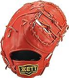 ZETT(ゼット) 野球 軟式 ファースト ミット ウイニングロード (右手用) BRFB33613 ディープオレンジ