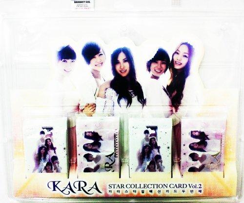 KARA スターコレクションカード VOL.2(2nd) パックのみ 12パックセット (STAR COLLECTION CARD アイドルカード)