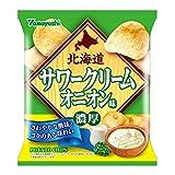 山芳製菓 ポテトチップス 北海道サワークリームオニオン味 50g×12袋