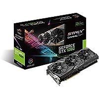 ASUS R.O.G. STRIXシリーズ NVIDIA GeForce GTX1080搭載ビデオカード ベースクロック1759MHz STRIX-GTX1080-O8G-GAMING