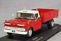 ☆ Whitebox 1/43 シボレー C 30 トラック 1961 レッド/ホワイト