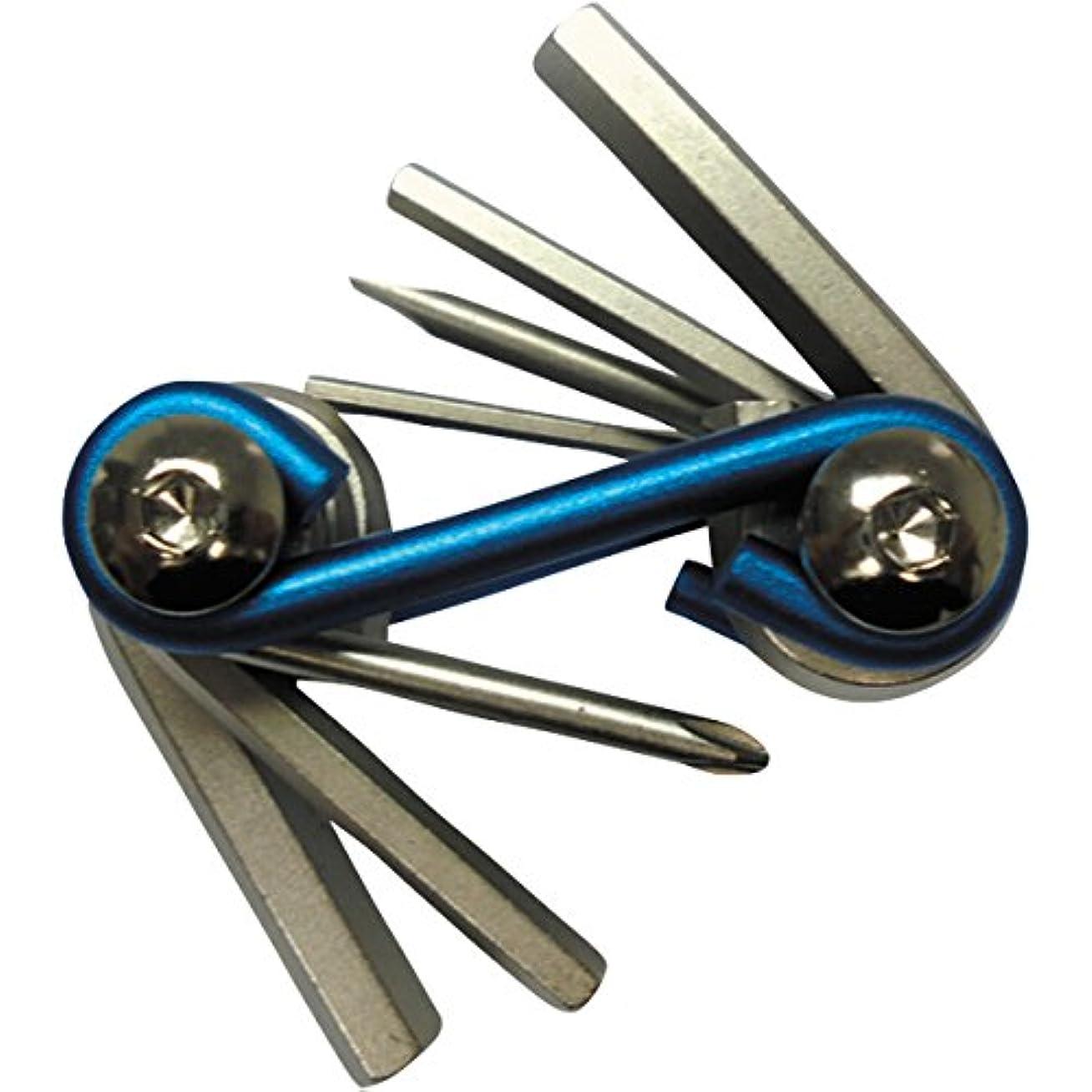 ヒステリック短くするそこからCYCLE PRO(サイクルプロ) ツール ミニハンディーツール 7in1 ブルー 200g アルミアーム ヘキサゴン トルクス ドライバー コンパクト 7ファンクション CP-TL11FS
