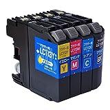 ジット ブラザー(Brother)対応 リサイクル インクカートリッジ LC113-4PK 4色セット対応 JIT-NB1134P