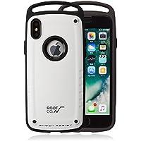 【ROOT CO.】iPhoneX 耐衝撃 ケース GRAVITY Shock Resist Case Pro. (マットホワイト)米軍MIL規格取得 ルート