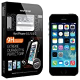 【国内正規品】 強化ガラス Spigen iPhone 5s / 5c / 5 シュタインハイル GLAS.t R スリム リアル スクリーン プロテクター (背面保護フィルム同梱) 【SGP10111】