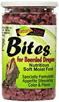 Nature Zone Juvenile Bearded Dragon Bites Nutritious Soft Moist Pet Food 9oz