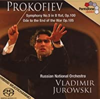 Prokofiev: Symphony No. 5; Ode To The End of the War [SACD] (2007-10-30)