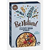 Be Natural, Breakfast Cereal, 5 Whole Grain Flakes, 325g