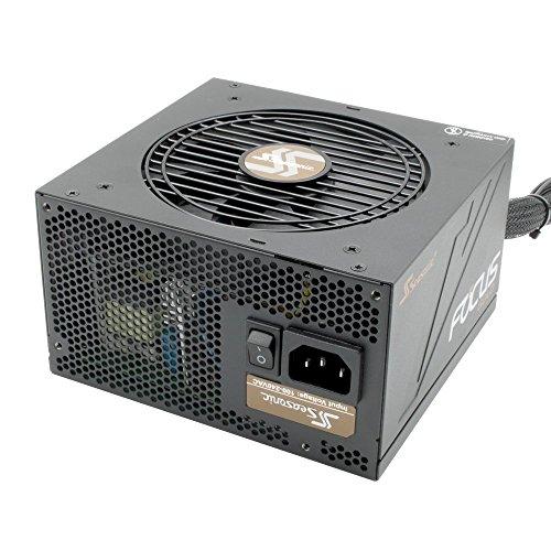 オウルテック 7年間新品交換保証 80PLUS GOLD取得 ATX 電源 ユニット セミモジュラー Skylake対応 Seasonic FOCUSシリーズ 550W SSR-550FM