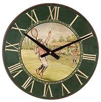 Style Vintage mƒle joueur de tennis horloge murale (Misc.)