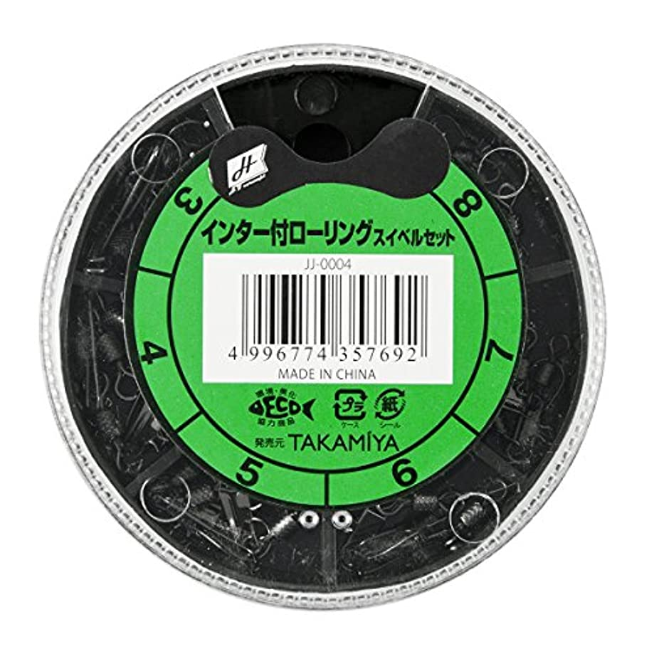 ピンポイント従うドルTAKAMIYA(タカミヤ) H.B CONCEPT インター付 ローリングスイベルセット JJ-0004