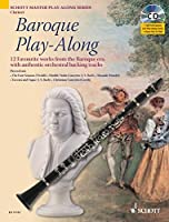 Baroque Play-Along: Clarinet (Schott Master Play-Along)
