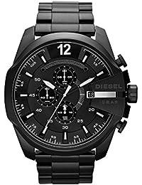 DIESEL【ディーゼル】クロノグラフ腕時計DZ4283メンズ (黒)