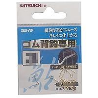 カツイチ(KATSUICHI) ゴム背鈎専用 フック 3 釣り針