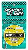 MYS反射テープ レッド(3mm×8m) MM-39