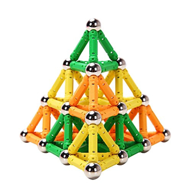 子供の知力を育てるプレイ?メイティ 100ピース パズル ブロック おもちゃ 知育玩具 磁石 マグネット 積み木 プレイルーム 男子玩具 女子玩具 ギフト プレゼント 誕生日 クリスマス お年賀 内祝い お返し 贈り物 お中元 お歳暮