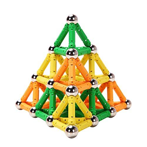 子供の知力を育てるプレイ・メイティ 100ピース パズル ブロック おもちゃ 知育玩具 磁石 マグネ...