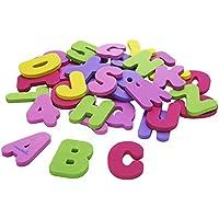 マンチキン バスレター&ナンバーズ ピンク アルファベット 数字 女の子 お風呂おもちゃ 知育玩具 munchkin 11509 [並行輸入品]