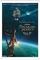 映画の金属看板 ティンサイン ポスター / Tin Sign Metal Poster of Movie Treasure Planet #2