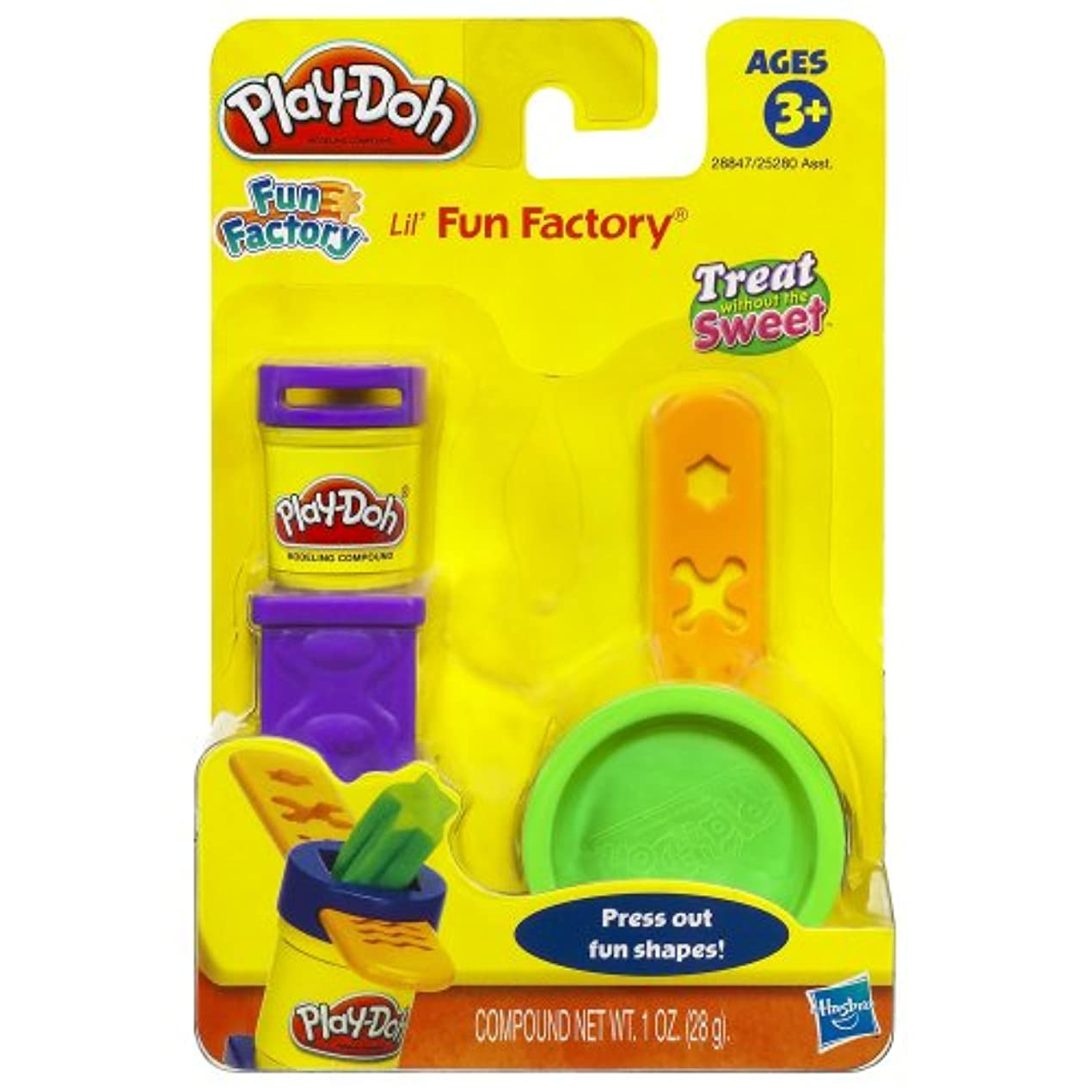 PLAY-DOH FUN FACTORY TREAT WITHOUT THE SWEET