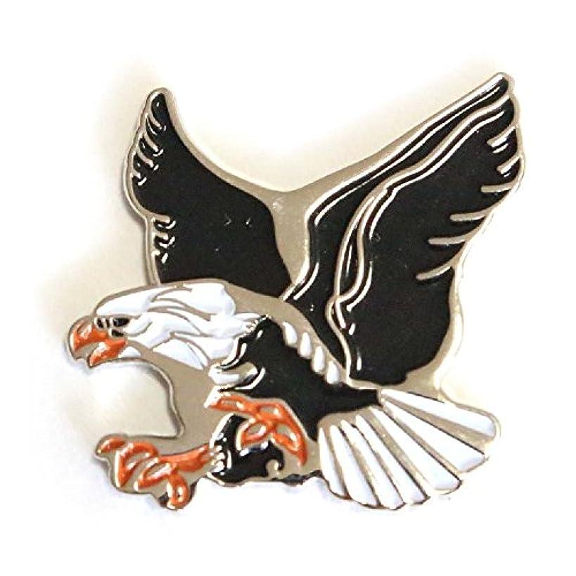 ジャンクションデンマーク時ゴルフボールマーカー イーグル / ワシ 鷲 ゴルフボール型ハットクリップ付 Eagle