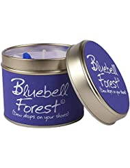 Lily- Flame Scented Candle in a Tin Bluebell Forest (Pack of 2) - スズブルーベルの森でLily-炎香りのキャンドル (Lily-Flame) (x2) [...