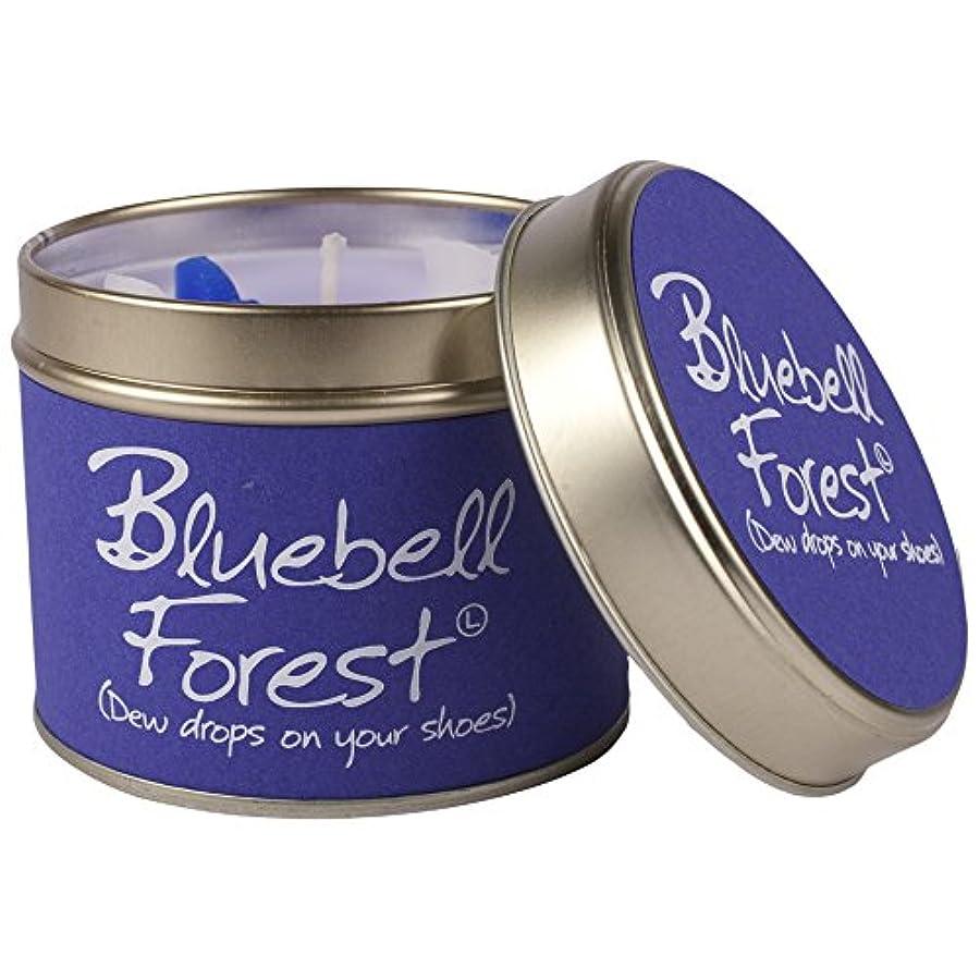 コンデンサー決定的パーティーLily- Flame Scented Candle in a Tin Bluebell Forest (Pack of 6) - スズブルーベルの森でLily-炎香りのキャンドル (Lily-Flame) (x6) [...