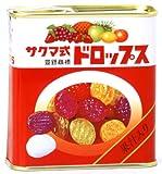 佐久間製菓 サクマ式缶ドロップス 115g×10個