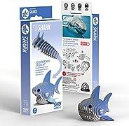 EUGY 019 Shark Eco-Friendly 3D Paper Puzzle