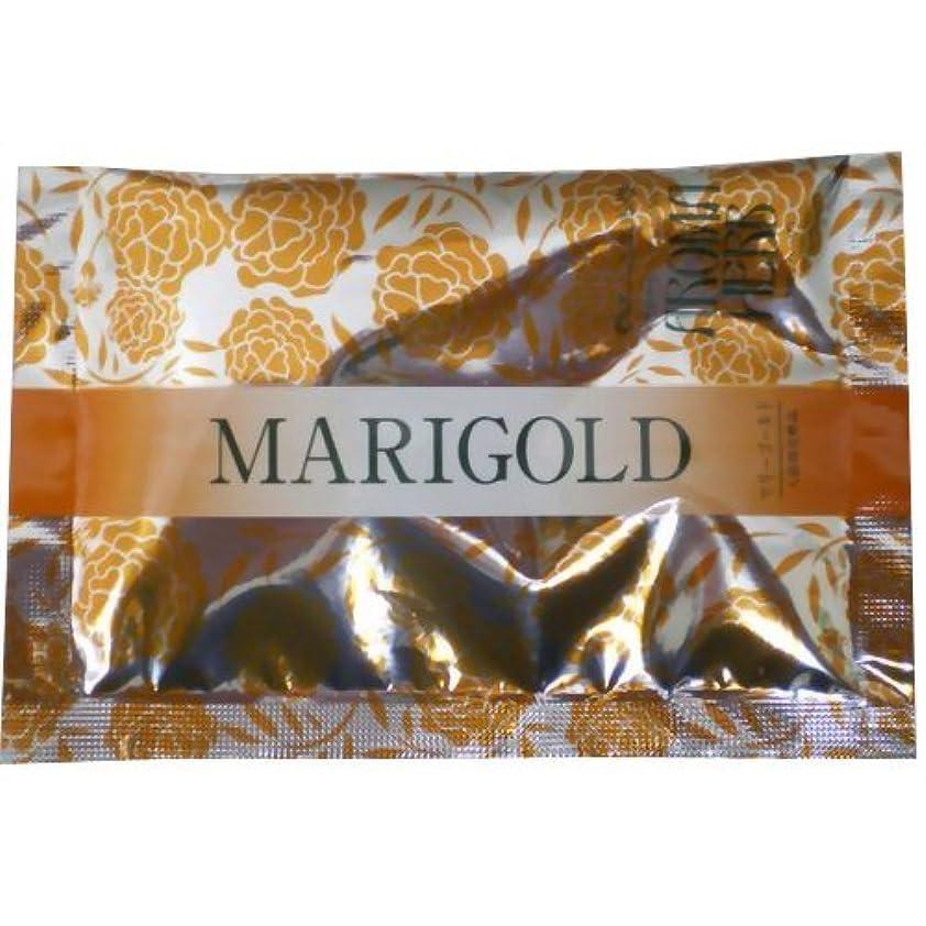 シンポジウムフラッシュのように素早く発行するアロマハーブ 香りの物語入浴剤 マリーゴールド(入浴剤 ハーブ)