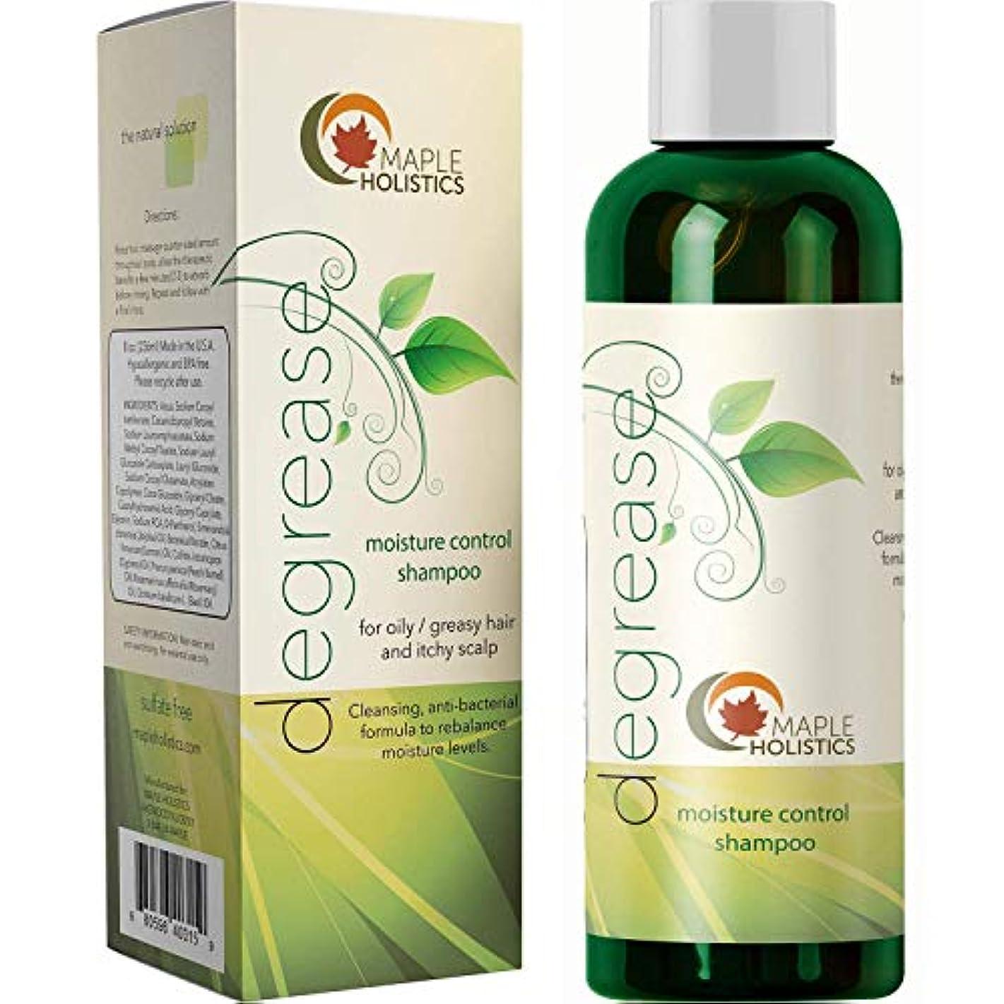 学習吸う植物学Shampoo for Oily Hair & Oily Scalp - Natural Dandruff Treatment for Women & Men - Itchy Scalp Treatment - Beautiful...