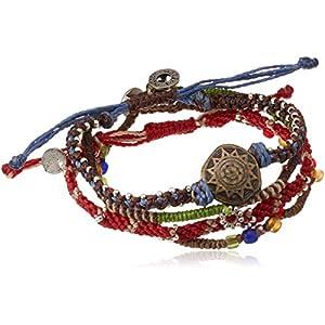 [ワカミ] wakami ブレスレット Earth Bracelet 4 Strand WA0388