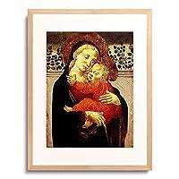 Meister von San Miniato 「Madonna mit Kind.」 額装アート作品