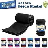 Cloudz Fleece Blanket - Black