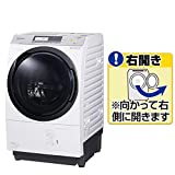 パナソニック 洗濯槽自動お掃除・ヒートポンプ乾燥機能付ドラム式洗濯乾燥機[右開き] クリスタルホワイト NA-VX7800R-W