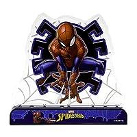 Unique Industries スパイダーマン ライトアップ 複数色 点滅 デコレーション 1ct