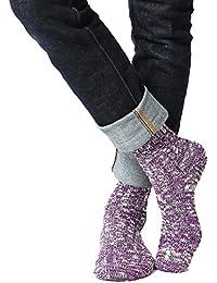 (アビト) ソックス メンズ 靴下 リブ クルー丈 日本製 国産