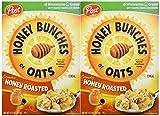 麦カリカリ蜂蜜の蜜房焙煎穀物 14.5 オンス (2 パック) Honey Bunches of Oats Crunchy Honey Roasted Cereal 14.5 Oz. (2 Pack)