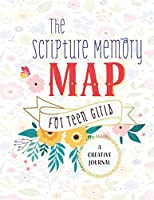 The Scripture Memory Map For Teen Girls  A Creative Journal: Cute Pink Floral Christian Bible Study Planner Journal Notebook Organizer | Women Weekly Daily Verse Scripture Prayer Notes Devotion SOAP Reflection Worship | 8.5x11 116 Pages White Paper