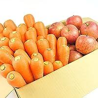 無農薬にんじん野菜セット(無農薬にんじん10kg+りんご2kg)
