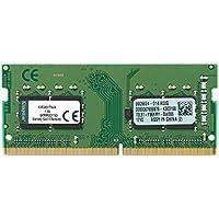 キングストン ノートPC用メモリ DDR4-2400 (PC4-19200) 4GB CL17 1.2V Non-ECC SODIMM 260pin 1Rx16 KVR24S17S6/4 永久保証