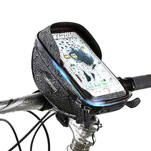 Liebetion 自転車トップチューブバッグ サドルバッグ