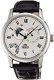 [オリエント]ORIENT 腕時計 自動巻 クラシックオートマチック 海外モデル 国内メーカー保証付き Sun&Moon(サン&ムーン) ホワイト SET0T002S0