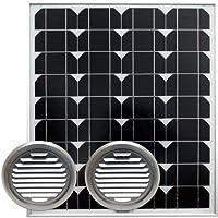 ソーラー高風量床下換気扇