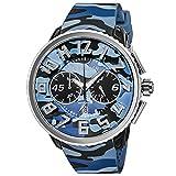 [TENDENCE] 腕時計 GULLIVER Round CAMO TY046023 メンズ ブルー