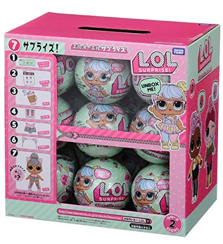 Takara Tomy L.O.L. Surprise Doll GLAM GLITTER Series 2 /18