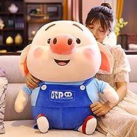 豚置物毛糸の人形豚人形女の子 28cm B