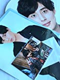 Kis-My-Ft2 【ジャンボうちわ+クリアファイル+オリジナルフォトセット(藤ヶ谷 太輔)】ライブ ツアー 2018 Yummy!!you&me +【Kis-My-Ft2】公式写真 1種 セット