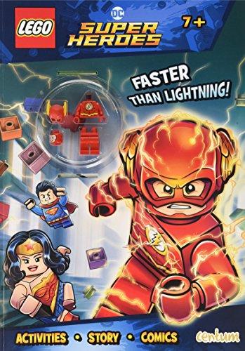 Lego - DC Superheroes - Activity Book with Mini Figure (Lego Dc Superheroes)